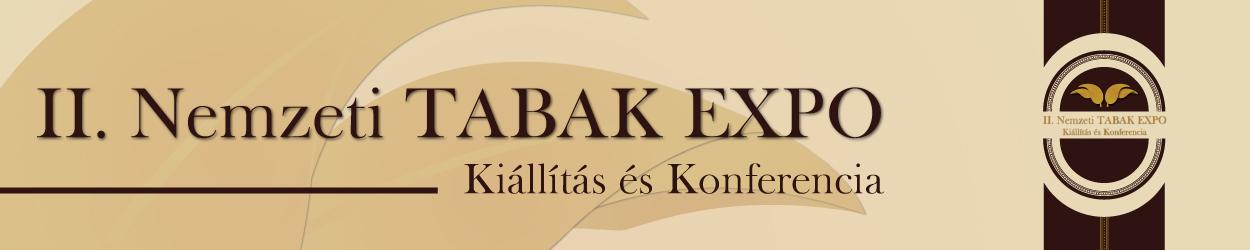 II. Nemzeti TABAK EXPO