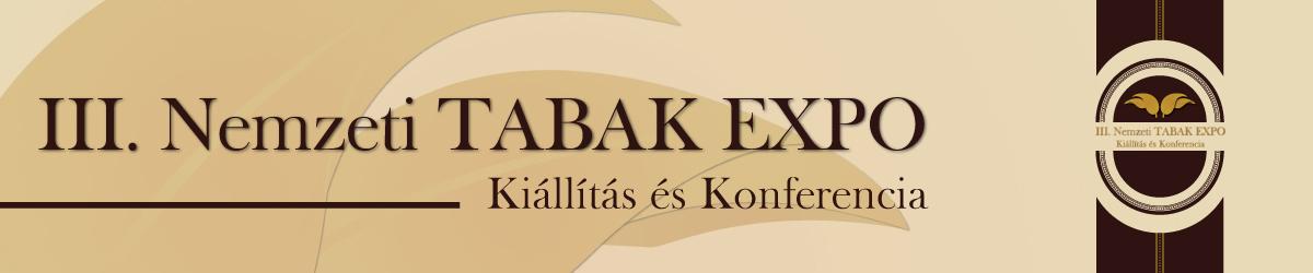 III. Nemzeti TABAK EXPO